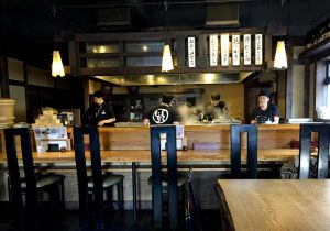 Open Kitchen - My favorite counter seating