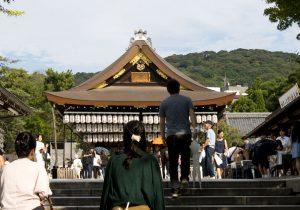 Stage of Yasaka Shrine