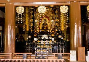 Dainichi-Nyorai Buddha in the Main Hall