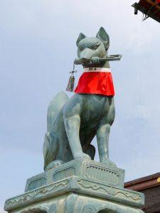 Fox Statue of Fushimi Inari