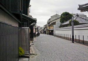 Kamishichiken Street