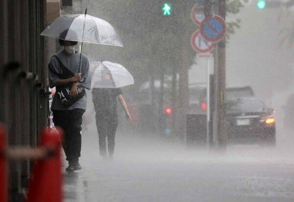 Heavy Rain Storm hit Kyoto !